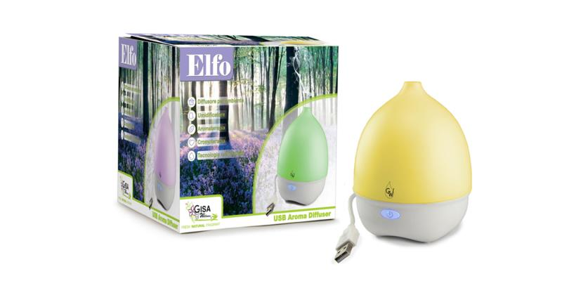 Elfo - diffuser with USB